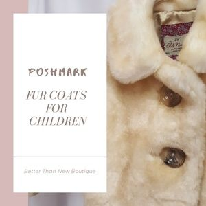Other - FUR COATS for Children